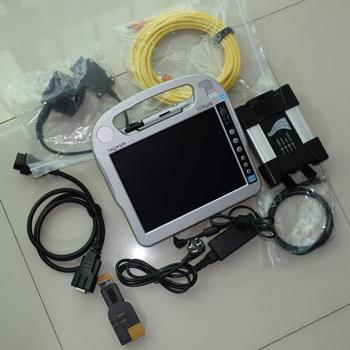 for bmw icom next diagnostic tool+ 2020.03 software ssd 480gb +cf-h2 laptop (ista d 4.22 ista p 3.67) expert mode window7