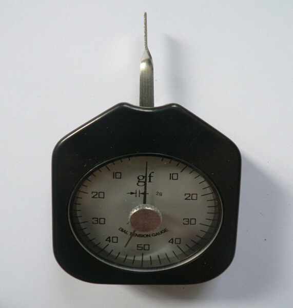 Dial Tension Gauge Gram Force Meter Single Pointer 500 g интегральная микросхема oem 3 2 pi b 512m pi b 1 raspberry pi 2 set 3