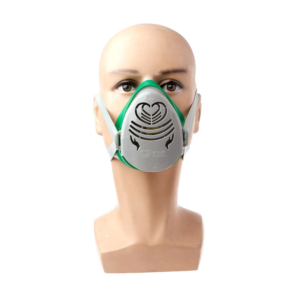 Health Care Zlrowr N3800 Anti-dust Facepiece Filter Paint Spraying Cartridge Respirator Gas Mask