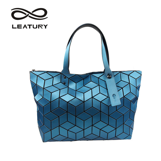 Style Pretty Bag Cube Newest 2018 Women Casual Water Leatury Tote thQrBCsdx