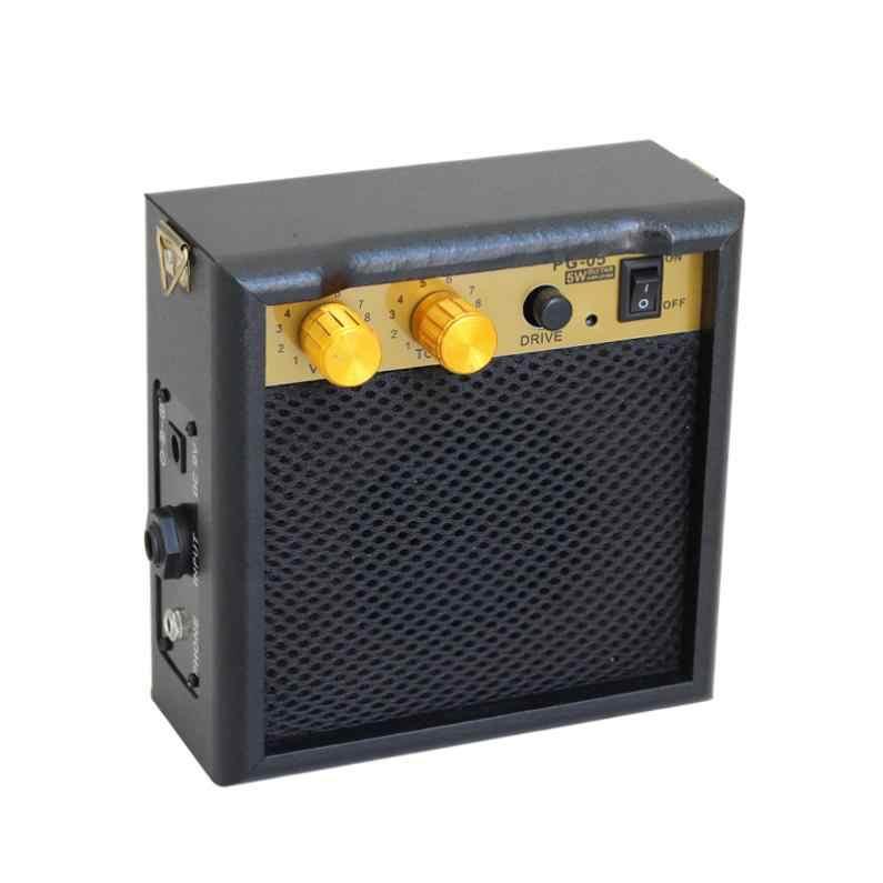 Мини 5 Вт 9 в гитарный усилитель, динамик для акустической электрогитары укулеле