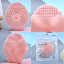 Skin-friendly Brushing Silicone Octopus Wash Brush Dont Hurt The Skin Exfoliating Cleansing Face