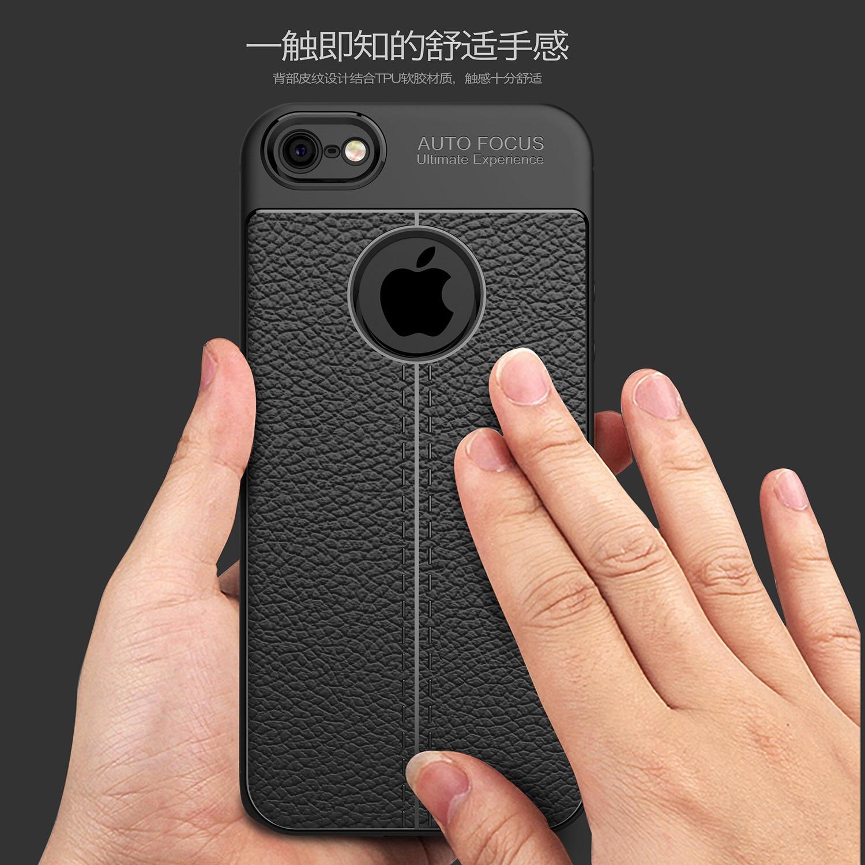 Shockproof Luxury Leather Soft iPhone Case 5