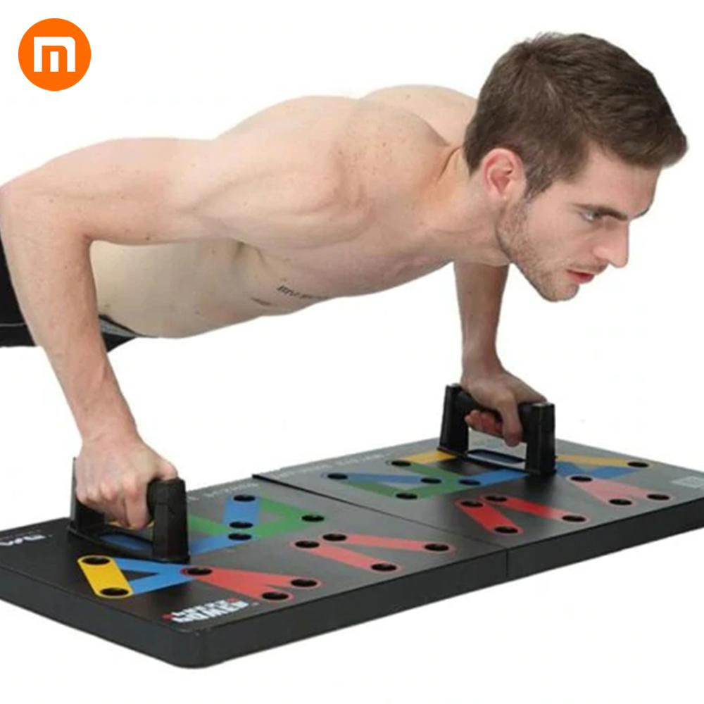 HOT In Stock Original Xiaomi Mjia Yunmai Protable Push up Support  Board Training System Power Press Push Up Stands Exercise ToolSmart  Remote Control