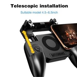 Image 3 - L1R1 لعبة مطلق النار المحمول الهاتف غمبد لعبة جهاز التحكم في عصا التحكم جدا المحمولة ماسِك للجوّال مع كتم تبديد الحرارة مروحة