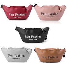 Сумка для телефона из искусственной кожи с буквенным принтом, поясная сумка для женщин, сумка для путешествий, сумка на плечо, модная сумка