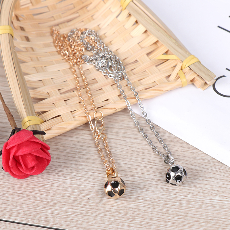 Fashion Football Boots Shoes Soccer Charm Necklace Pendant Sporty Style Men Women Gift Pendant Necklace Gold /Siliver