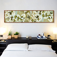 5D Apple Blossom Round Diamond Painting Cross Stitch Full Drill Bedside Painting Simple Modern Diy Diamond