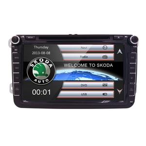 Discounted 7 2 Din Autoradio Car Dvd Player For Caddy Vw Passat B6