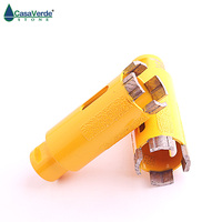Diamond 1 3/8 inch 35mm drilling bit for dry drilling and grinding granite and marble