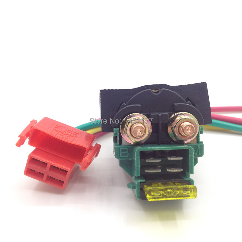 Yecnecty Motorcycle Electrical Parts Starter Relay With