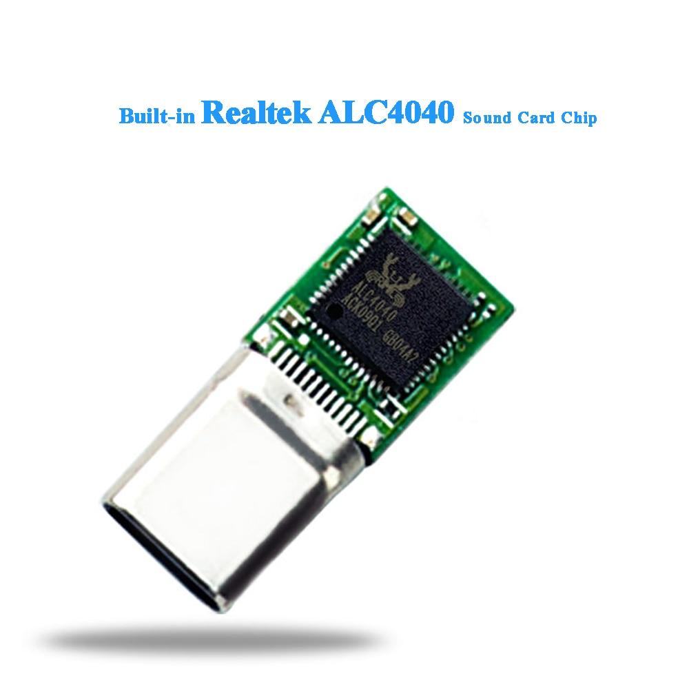 US $22 21  Portable Headphone Amplifier 24Bit/192Khz Audio Powered USB DAC  Headphone Amp For Phone Android USB C port-in Headphone Amplifier from