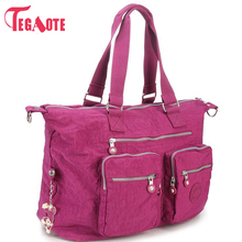 TEGAOTE 2017 Top-handle Bags Handbag Women Famous B