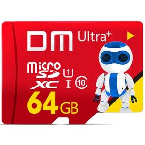 Image 1 - DM geheugenkaarten voor mobiele telefoons Micro sd kaart Class10 TF card 64 gb 80 Mb/s TF card Smartphone Tablet camera