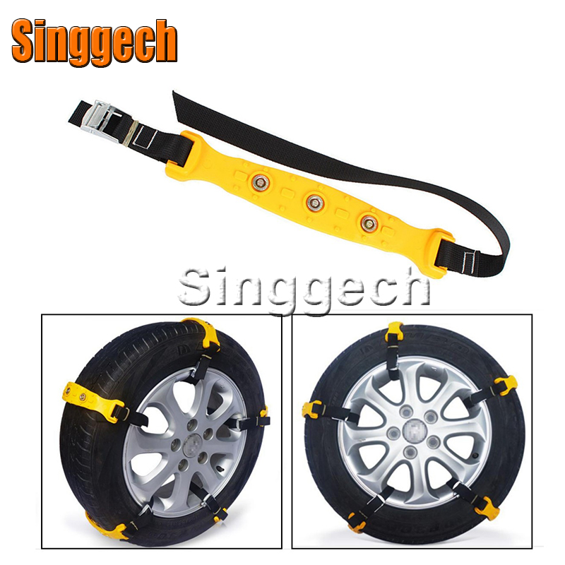 10X Car Wheel Snow Chains For Renault Duster Laguna Megane 2 3 Logan Captur Clio For Cadillac CTS SRX AT Accessories for renault laguna 2 ii grandtour kg0 1