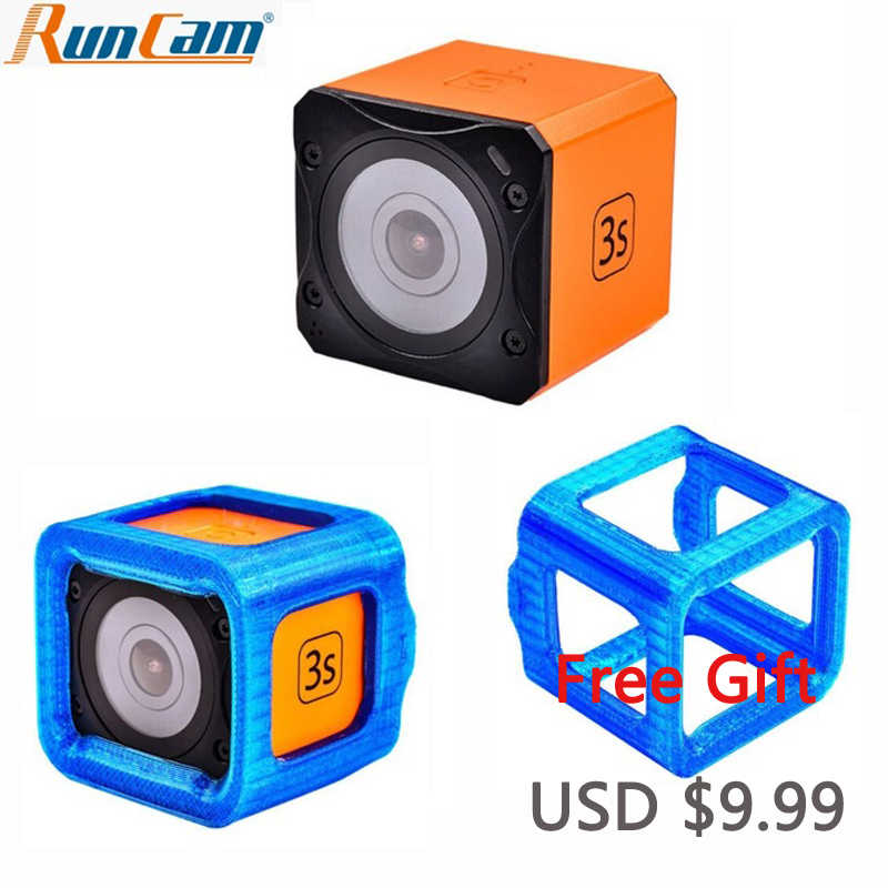 RunCam FPV Sport Camera 3S 1080P 60FPS 160 Wide Angle Excellent WDR Effect Replaceable Battery Motion Camera Built-in WiFiRunCam FPV Sport Camera 3S 1080P 60FPS 160 Wide Angle Excellent WDR Effect Replaceable Battery Motion Camera Built-in WiFi