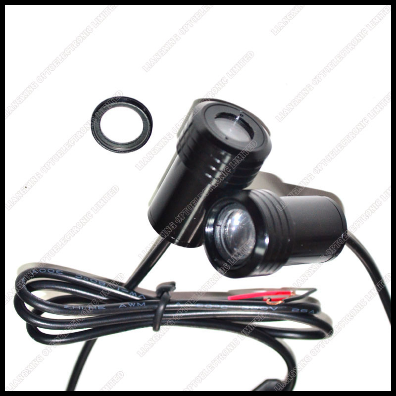 Car led LOGO mini welcome light 7W door lamp laser projection 1pair Free Shipping