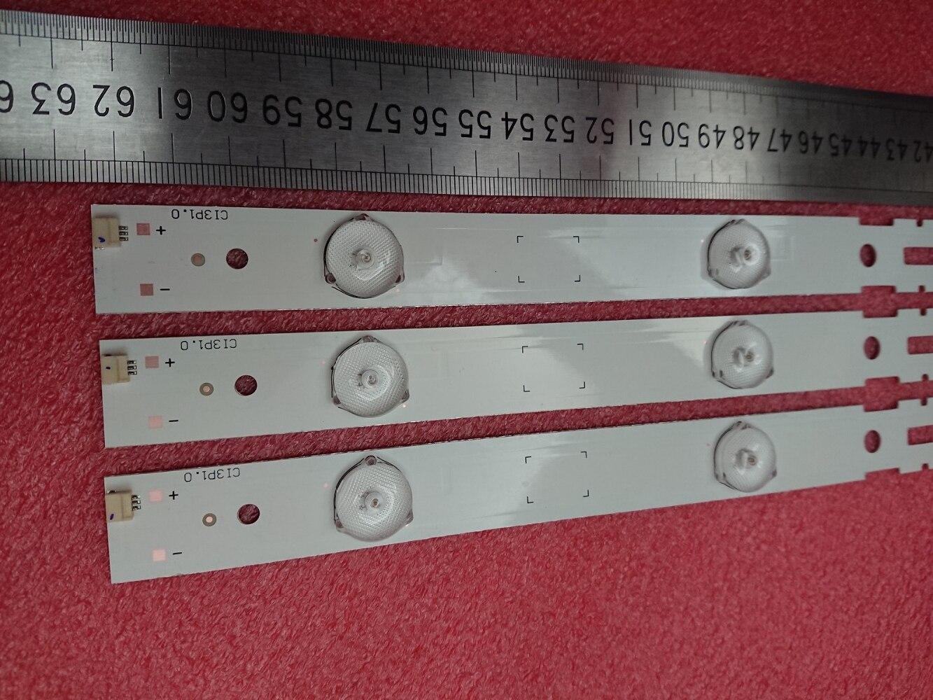 (New Kit )3 PCS 7LED 625mm LED Backlight Strip For Samsung_2014ARC320_3228_B07 GRUNDIG 32VLE6520-BH 32CLE6525BG LM41-00100A