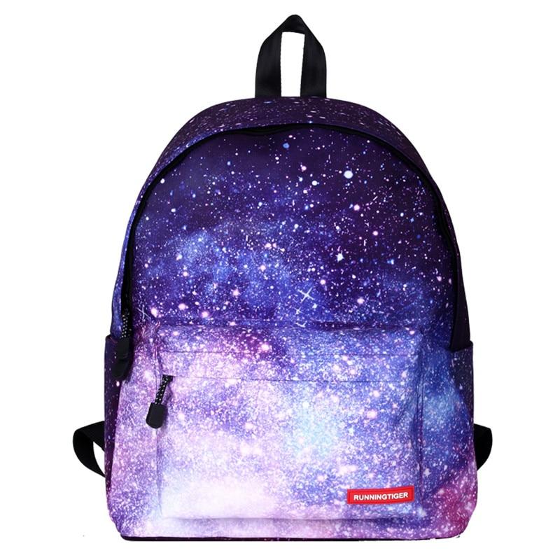 2017 Galaxy Women Men Backpack Female Teenage Girl School Bag Casual Laptop Male Bagpack Mochila2017 Galaxy Women Men Backpack Female Teenage Girl School Bag Casual Laptop Male Bagpack Mochila