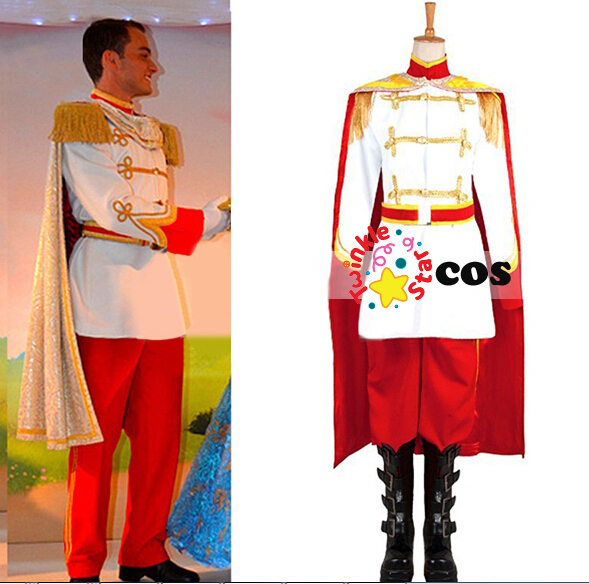 2017 prince Phillip Halloween costumes for adult men sleeping beauty prince Phillip cosplay costume