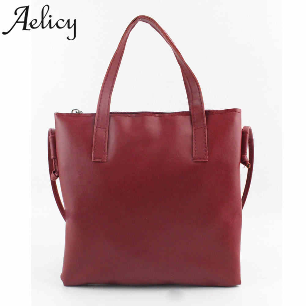 Aelicy Women Fashion Handbag Shoulder Bag Large Tote Ladies Purse Female Zipper Shoulder Bag Women Famous Brands bolsas feminina