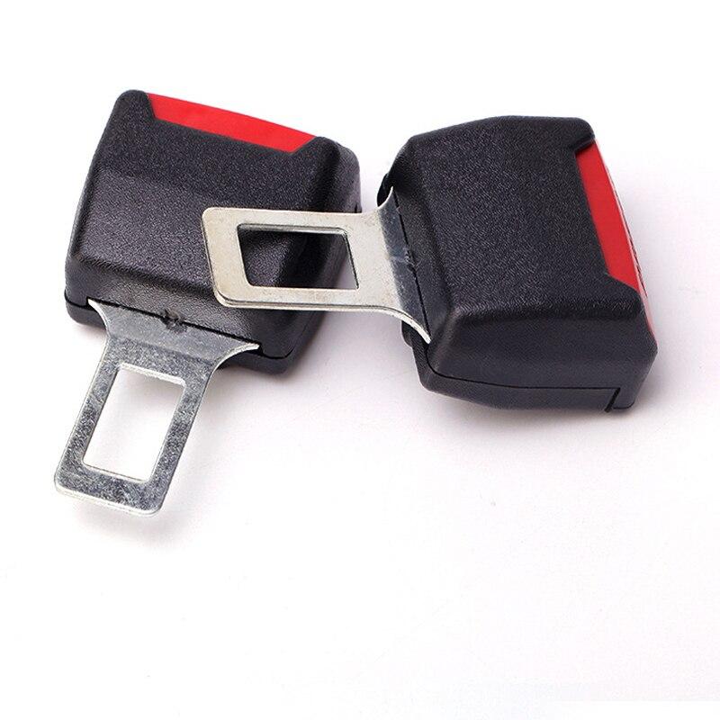 2 pz Auto Universale Cintura di Sicurezza Titolare della Carta Doppia Uso Nastro di Sicurezza Spina Spina Auto Multiuso Cartuccia Spedizione Gratuita