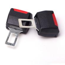 2pcs Car Universal Seat Belt Card Holder Double Use Safety Tape Plug Plug Car Multi Purpose Cartridge Free Shipping