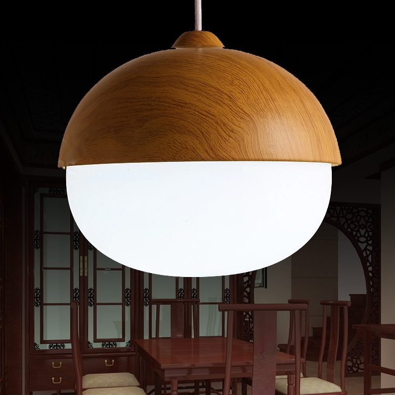 Glass Modern Pendant Light Fixtures With White Ring