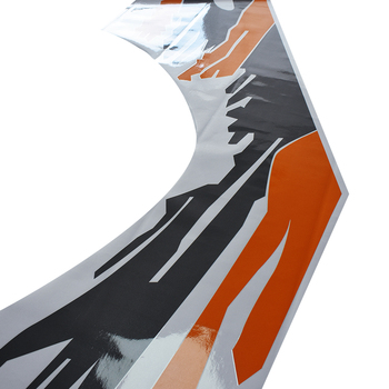 Decalcomanie In Vinile Per Auto Personalizzate | Adesivi Per Auto 2 Pc Proteggere Scratck Laterale Del Corpo Posteriore Del Tronco Grafica Vinili Personalizzato Accessori Auto Decal Per Ford Ranger 2012 -2017