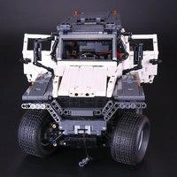2016 New LEPIN 23011 2816Pcs Technic Series Off Road Vehicle Model Building Kits Minifigure Block Bricks