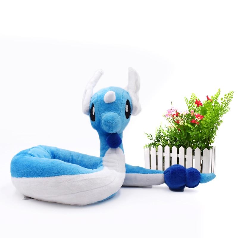 10 Pcs/lot Dragonair  Peluche Animal Quality Toys Soft Stuffed  Plush For Kids 70 Cm  Christmas Gift