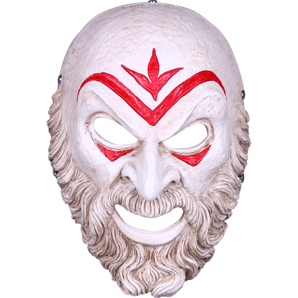 Game Assassin Creed Odyssey Hierarch Mask Resin Cosplay Accessories Halloween Props Prom Party Resin Mask Gift (17)