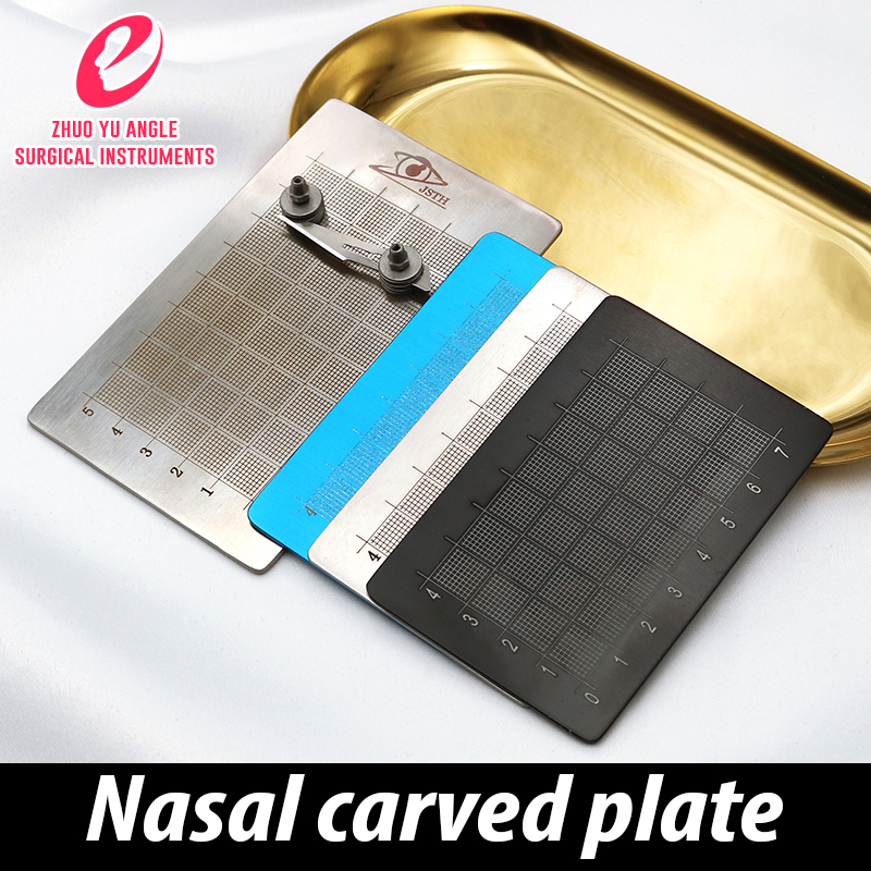 Nose Tool Measuring Plate Prosthesis Engraving Plate Measuring Device Shaping Device Double-sided Calibration Belt Blade