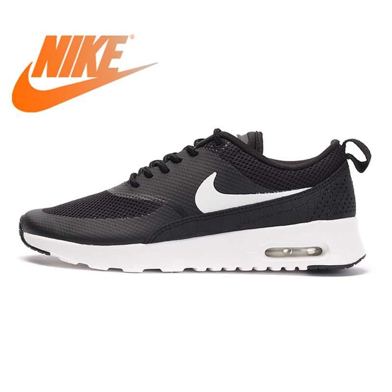 new appearance cost charm latest discount Original NIKE AIR MAX THEA Women's Running Shoes Cushioning Lace-up  Breathable Low-cut Sneakers Women Outdoor Lightweight Shoes
