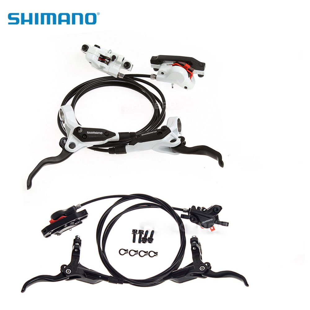SHIMANO Mountain Bike Disc Brakes BR-BL-M395 Bicycle Hydraulic Disc Brake Front Rear Set aluminum mountain road bicycle disc brakes w rotors black front rear