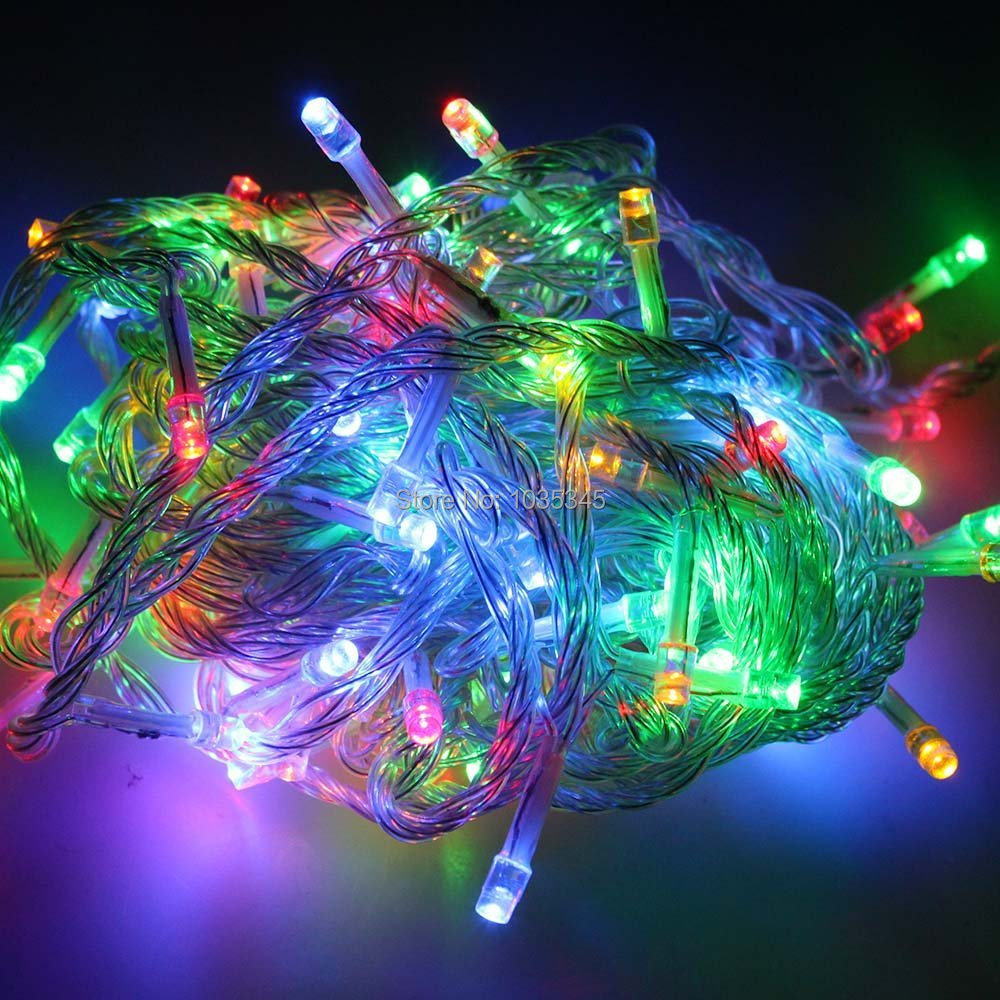 Waterproof IP65 Outdoor 100M 800 LED Fairy String Light 8 Modes for Wedding Christmas Party Holiday Decoration Free Shipping