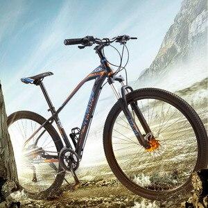 Image 5 - Wolfs fang bicicleta de montanha, freios a disco duplo 27 velocidades 29 Polegada, liga de alumínio para bicicleta mtb bmx de frete grátis