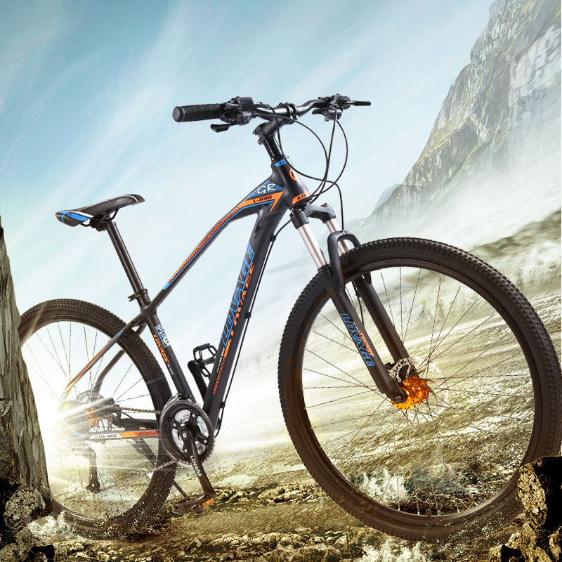 wolf s fang Bicycle Mountain bike 27speed 29 Inch Aluminum Alloy Road Bikes mtb bmx bicycles wolf's fang Bicycle Mountain bike 27speed 29 Inch Aluminum Alloy Road Bikes mtb bmx bicycles Dual disc brakes of Free shipping