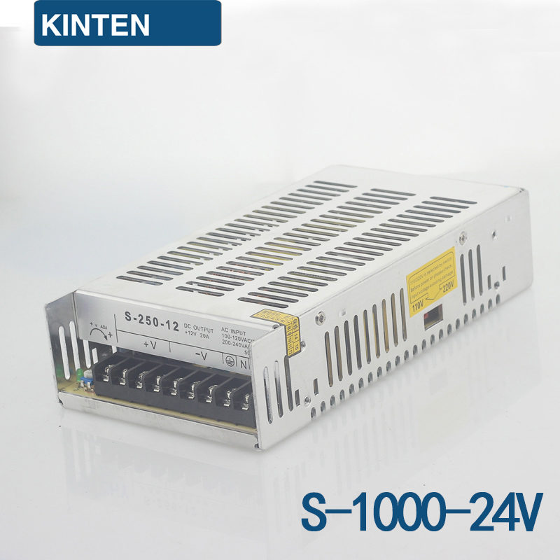 S-1000-24 Series Switching Power Supply Monitoring Power LED Power Transformer Power 1000W24V42A