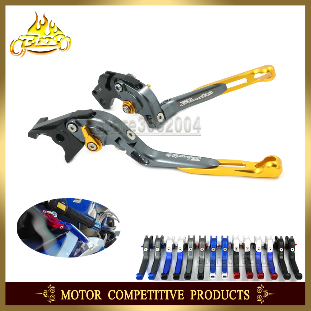 Folding Extendable Adjustable Motorcycle Brakes Clutch Levers For SUZUKI GSF 600S S K4 1995 2004 GSF600