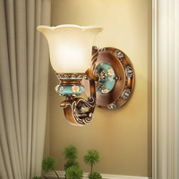 Европейский светодиодный настенный светильник Ванная комната туалетное зеркало со светодиодной подсветкой Гостиная настенное бра, прикро