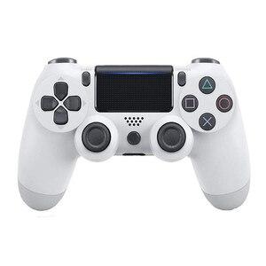 Image 5 - ل PS4 تحكم مقبض اللاسلكية للبلوتوث لعبة joypad ل المزدوج صدمة اهتزاز المقود غمبد للبلاي ستيشن 4