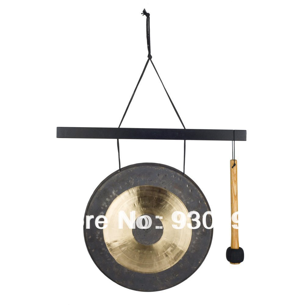 12'' percussion musical instruments traditional Chinese chau gong on sale (No Gong Stand) MM with a free mallet (without stand)-in Gong & Cymbals from Sports & Entertainment on AliExpress - 11.11_Double 11_Singles' Day 1