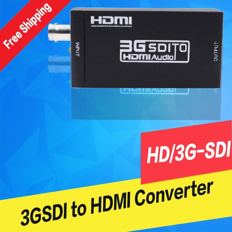 Mini Size SD/HD/3G-SDI To HDMI Converter Up To 1080p SDI Converter To HDMI