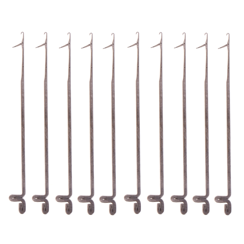 10 Pcs Crochet Threader Beading Needles Stringing Tool DIY Jewelry Making 80mm