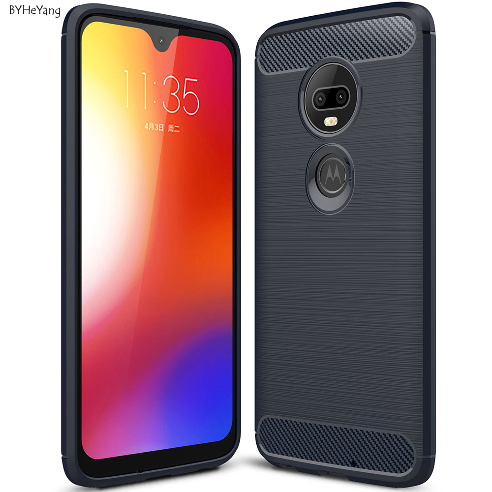 For Motorola Moto G7 Case For Moto G7 Cover Shockproof Soft TPU Rubber Silicone Phone Cover For Coque Motorola Moto G7 Fundas