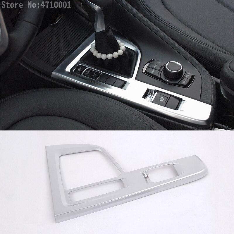 Interior Gear Box Shift Frame Cover Trim for 2016-2018 Nissan Altima Chrome ABS