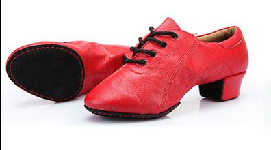 Sneakers Latin Shoes Woman Leather Girl Children Soft Bottom Female Teachers Of Adult Children Square Dance Women Shoes Leather