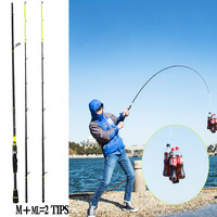 Carbon Spinning Rod 2.1m 2.4m Fishing Rod Carp Rod pole ML M 2 Tips pesca Fishing Gear canne a peche Jigging Rod 5 20g Lure Gear