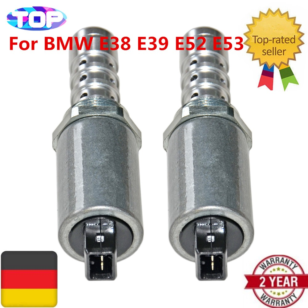 AP03 11367524489  11367501775  11361433667  2*PCS Variable Timing Valve VANOS Solenoids For BMW 5 7 X5 E38 E39 E53